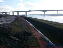 Ipswich, River Wall Replacement - Original Condition