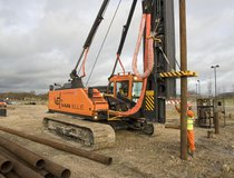 Hartlepool - Driven Steel Tube Piles