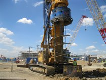 Heathrow - Rotary Piling Rig