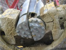 A64 Bridge Foundation Strengthening - DTHH Drill Bit