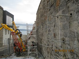 Granton - Soil Nail Retaining Wall Stabilisation
