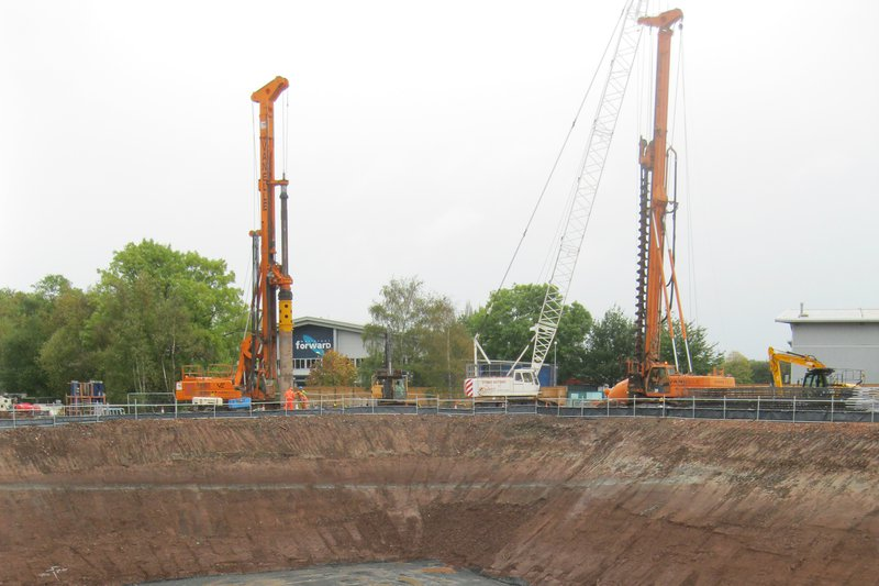 Mercia Energy from Waste - Secant Pile Wall Installation