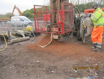 Mercia Energy from Waste - Preliminary Trial Anchor Installation