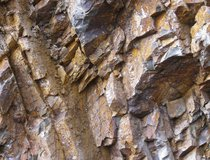Rock Slope, Jersey  - Jointed Jersey Shale