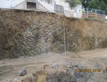 Rock Slope, Jersey - Excavated Face