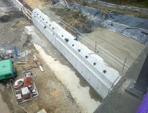 M25 - Anchored Retaining Wall