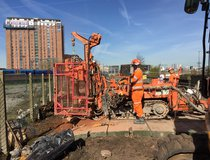Manchester Northern Hub - Micropiles