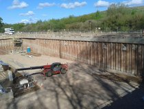Mercia Energy from Waste - Completed Secant Pile Wall