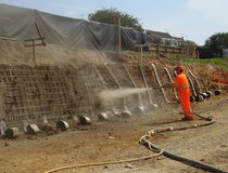 Scarborough - Soil Nails & Shotcrete