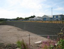 Fisher Street - Finished Soil Nail Wall.jpg